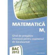 BAC 2012 - Matematica M1 - Ghid de pregatire intensiva pentru examenul de bacalaureat