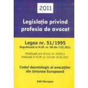 Legislatia privind profesia de avocat