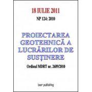 Proiectarea geotehnica a lucrarilor de sustinere - editia I - 18 iulie 2011