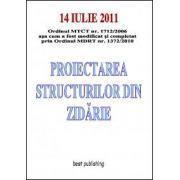Proiectarea structurilor din zidarie - editia I - 14 iulie 2011