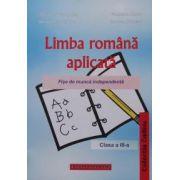 Limba romana, fise de munca independenta pentru clasa a III-a