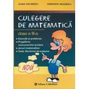 Culegere de matematica clasa a 3