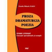 Proza. Dramaturgia. Poezia. Concepte operationale si exemple (BAC 2012)