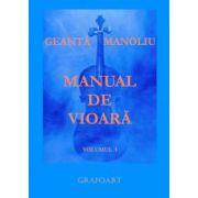 Manual de vioară (vol. I) - Geantă - Manoliu