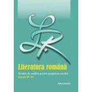Bac 2012. Literatura Romana. Eseul. Modele de analiza clasele IX - XII