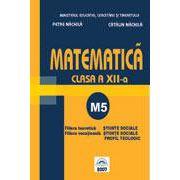Matematica M5 clasa a XII-a