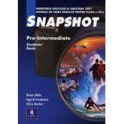 Snapshot Pre-Intermediate Student Book - manual clasa a VII-a
