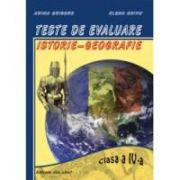 Teste de evaluare Istorie-Geografie - cl.a-IV-a