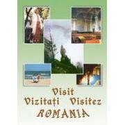 """CD multimedia """"VIZITAŢI / VISIT / VISITEZ ROMANIA"""" - Limbile română, franceză şi engleză"""