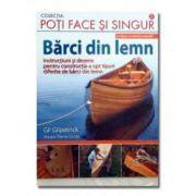Barci din lemn