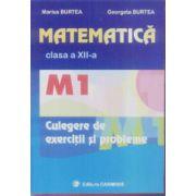 Matematica clasa a XII-a M1 Culegere de exercitii si probleme