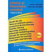 Limba si literatura românã - cls. a 11-a