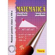 Matematica, manual pentru clasa a VII-a - Radu