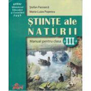 Stiinte ale Naturii manual clasa a 3 a