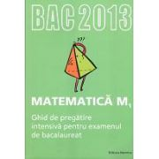 Bacalaureat 2013 Matematica M1. Ghid de pregatire intensiva pentru examenul de bacalaureat