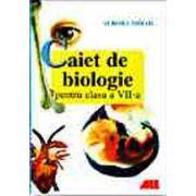 Caiet de biologie pentru clasa a VII a