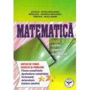 Matematica clasa a IX - a : algebra , geometrie , trigonometrie ; sinteze de teorie , exercitii si probleme