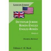 Dictionar juridic roman-englez/englez-roman.
