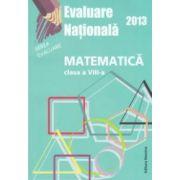 Matematica-Evaluare nationala 2013