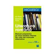 Literatura romana. Manual preparator pentru clasa a VII-a