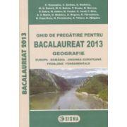 Geografie: ghid de pregatire pentru bacalaureat 2013