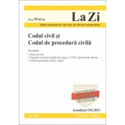 Codul civil si Codul de procedura civila actualizata la data de 5.01.2013
