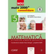 MATEMATICA. ARITMETICA, ALGEBRA, GEOMETRIE. CLASA A V-A. PARTEA II