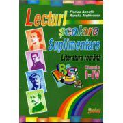 Lecturi scolare suplimentare. Literatura romana clasele I-IV
