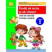 Învăţ să scriu şi să citesc! Caiet de scriere şi exerciţii la limba română. Semestrul II (după ABECEDAR de Marcela Peneş)