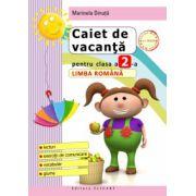 Caiet de vacanţă pentru clasa a II-a. Limba română