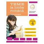 Teme la limba română. Clasa a IV-a. Comunicare, vocabular, exerciţii de lectură