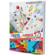 Teste de logică şi perspicacitate pentru stimularea gândirii şi dezvoltarea inteligenţei - clasele I-IV
