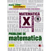Probleme de matematica pentru clasa a X-a. Consolidare - MATE 2000