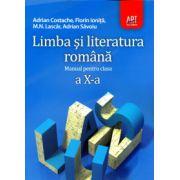 Limba si literatura romana manual pentru clasa a X-a