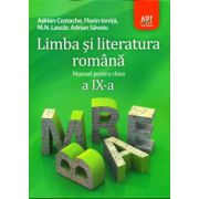 Limba si literatura romana manual pentru clasa a IX-a