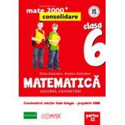 MATEMATICA. ALGEBRA, GEOMETRIE. CLASA A VI-A. PARTEA II - Consolidare