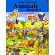 Animale in pericol - cu abtibilduri (Colectia,, Lipesc si ma joc cu...')