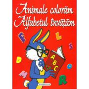 Animale coloram - Alfabetul invatam