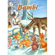 Bambi - carte ilustrata