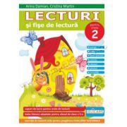 Lecturi şi fişe de lectură - Clasa a II-a. Suport de lucru pentru orele de lectură