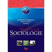 Dicţionar de sociologie