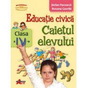 Educaţie civică. Caietul elevului pentru clasa a IV-a