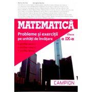 Matematică clasa a IX-a - Campion