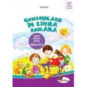 Comunicare în limba română - Caiet pentru clasa a II-a, semestrul 1