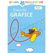 Exerciţii grafice - albastru
