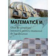 Matematică M1 - Ghid de pregătire intensivă pentru examenul de bacalaureat