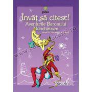 Învăţ să citesc! Aventurile Baronului Munchausen • 4 - 7 ani