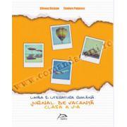 Jurnal de vacanţă - Limba şi literatura română - Clasa a V-a