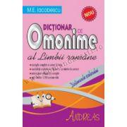 Dicţionar de Omonime al Limbii Române
