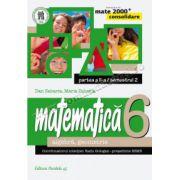 MATEMATICA. ALGEBRA, GEOMETRIE. CLASA A VI-A. CONSOLIDARE. PARTEA A II-A, SEMESTRUL 2